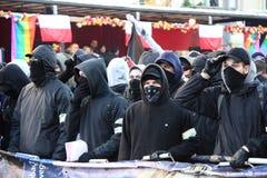 Émeutes Images libres de droits
