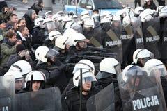 Émeutes Image libre de droits