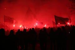Émeutes Photographie stock