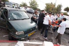 Émeutes de Jérusalem est Photographie stock libre de droits
