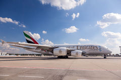 Émirats Airbus A380-800 Photos stock