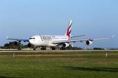 Émirats Airbus A340 Photos stock