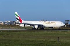 Émirats Airbus A340 Images stock