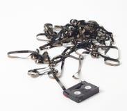 Émission de cassette vidéo Image stock
