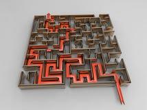 Émission de Labyrinthe Photographie stock