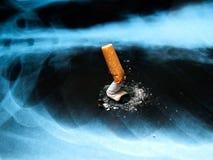 Émissions de fumage Photographie stock libre de droits