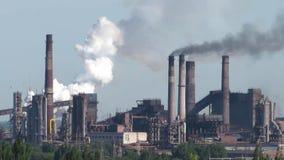 Émissions de polluants de l'air banque de vidéos
