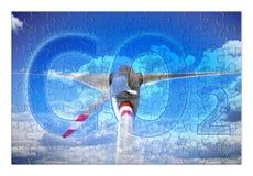 Émissions de réduction du CO2 dans l'atmosphère utilisant e alternatif photos libres de droits