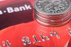 Émissions financières Photo stock