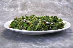 Émoi Fried Water Spinach, Vietnamien de nourriture Images stock