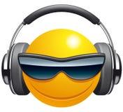 Émoticône DJ illustration libre de droits