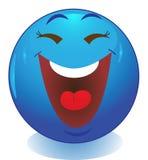 Émoticône souriante de visage Photos stock