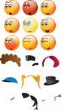 émoticônes 3D Image libre de droits