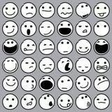 Émoticônes de caricature Image libre de droits