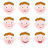 émotion Image stock