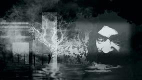 Émotion dans le gris Photographie stock libre de droits