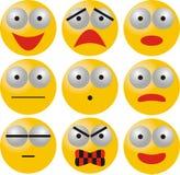 Émotions illustration de vecteur