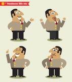 Émotions de président dans les poses Photographie stock libre de droits