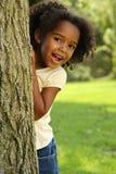 Émotions, enfant espiègle Photo stock