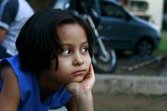 Émotions mélangées Photographie stock libre de droits