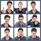 Émotions mélangées Photographie stock
