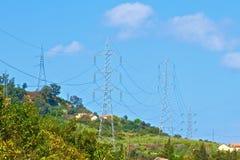 Énergie électrique Image libre de droits