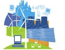 Énergie électrique Images libres de droits