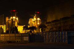 Énergie électrique de Bangpakong Photo libre de droits