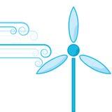 Énergie éolienne Illustration Libre de Droits