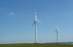 Énergie éolienne Image libre de droits