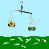 Énergie éolienne Photo libre de droits