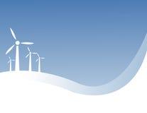 Énergie éolienne Images stock