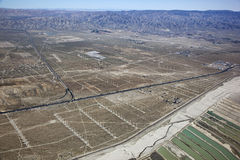 Énergie éolienne de Palm Spring Image libre de droits