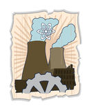 Énergie atomique Photo libre de droits