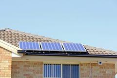 Énergie d'énergie solaire Photos stock