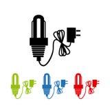Énergie d'ampoules illustration de vecteur