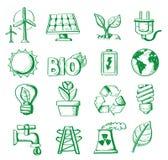 Énergie d'aspiration de main Images libres de droits