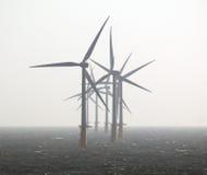 Énergie d'eco d'énergie éolienne Photo stock