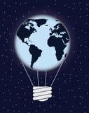 Énergie d'eco de la terre illustration de vecteur