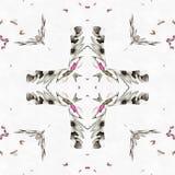 Énergie de kaléidoscope de batik vieille Photographie stock