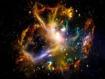 Énergie de l'espace Image libre de droits