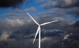 Énergie de moulin à vent Photographie stock