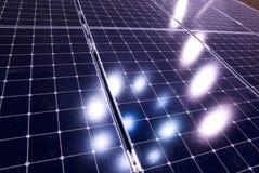 énergie de panneau solaire Photos libres de droits