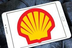 Énergie de Shell et logo pétrochimique de société photos libres de droits
