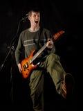 Énergie de vedette du rock Image libre de droits