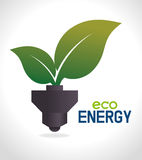 Énergie de vert d'Eco Images libres de droits
