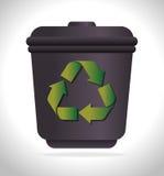 Énergie de vert d'Eco Image libre de droits