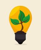 Énergie de vert d'Eco Photos stock