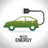 Énergie de vert d'Eco Photo libre de droits