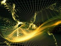 Énergie des royaumes de fractale Image libre de droits